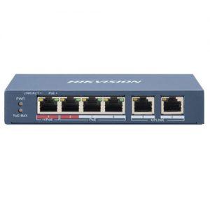 hikvision-6-portov-poe-mrezhov-komutator-ds-3e0106hp-e