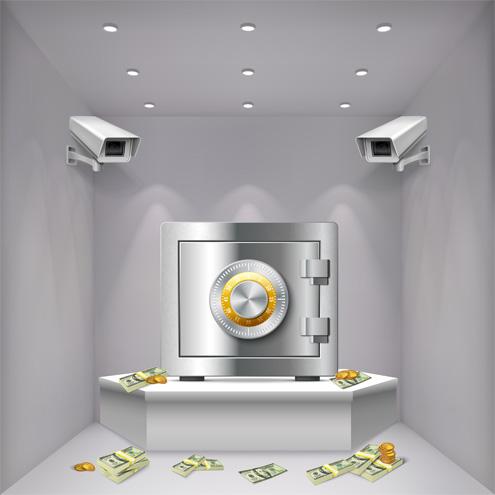 Видеонаблюдение за банки