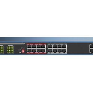 hikvision-18-portov-poe-mrezhov-komutator-ds-3e0318p-e-b